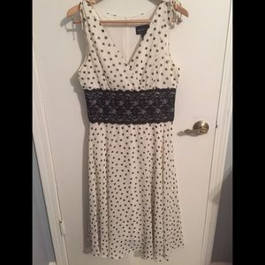 Feminine Polka Dot Dress